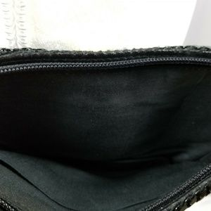 Bags - Elegant Small After Five Women's Black Shiny Purse